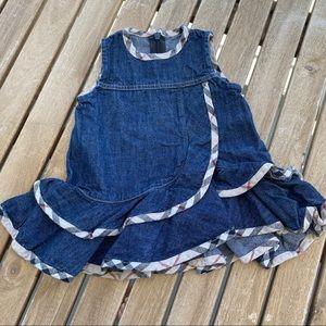 Dress Burberry denim 0 / 3 months sleeveless
